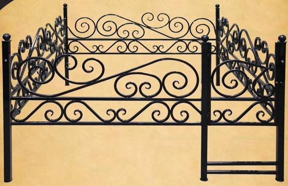 Ограда ажур открытый