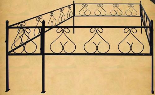 Ограда колокольчик старая