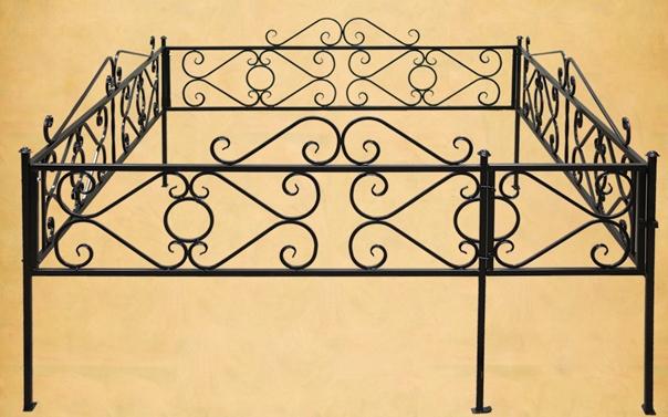 Ограда низкая с кольцом