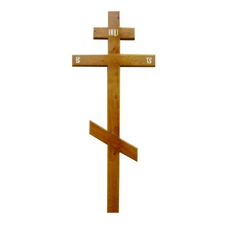 Крест деревянный «Стандарт» (дуб)