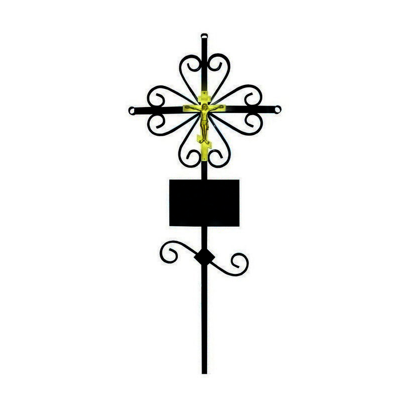 Крест металлический  «Вензель»
