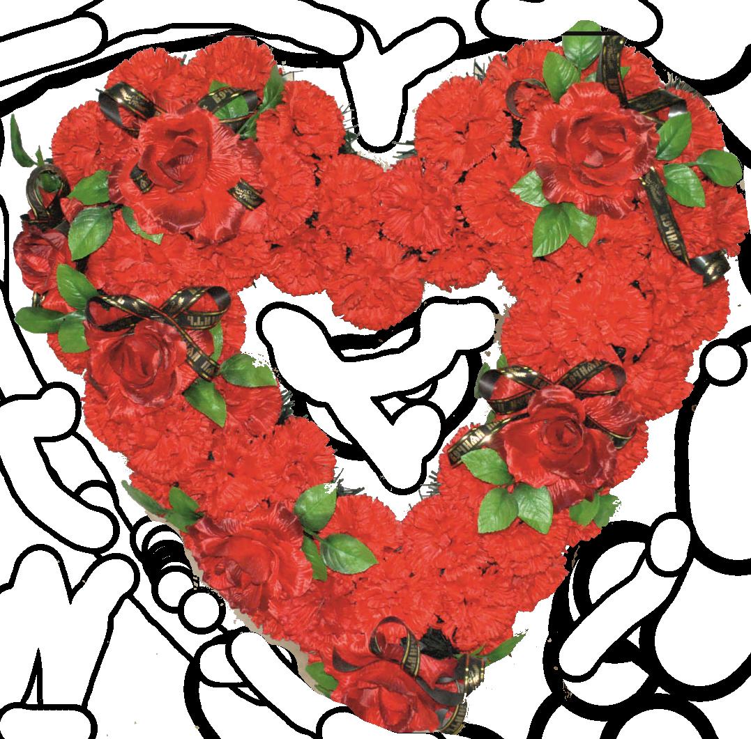 Корзина Сердце-2